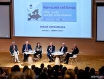 Debata obywatelska: Rozważania nad Europą