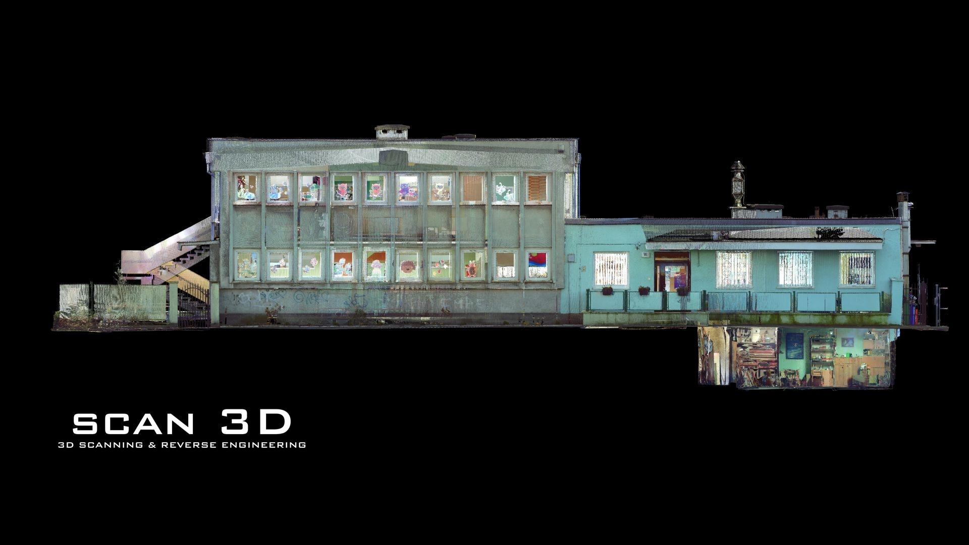 Model 3D budynku