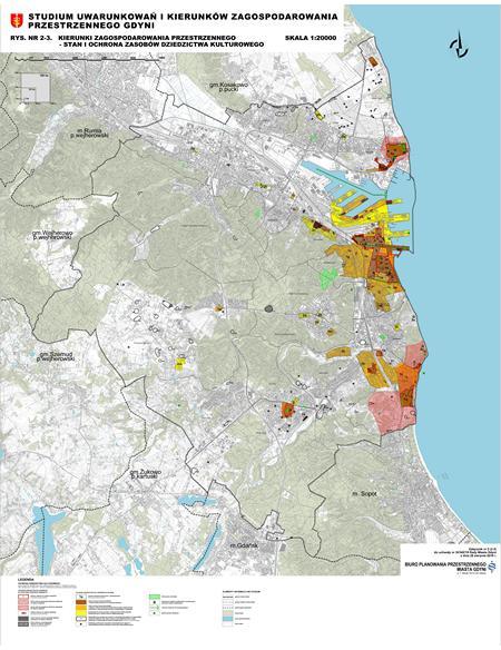 Kierunki zagospodarowania przestrzennego - Stan i ochrona zasobów dziedzictwa kulturowego_small