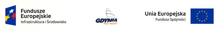 logotyp Rozwój systemu gospodarowania wodami opadowymi na terenie Gdyni